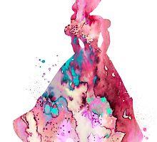 Belle by Watercolorsart