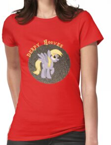 DerpyHoovesGlitter Womens Fitted T-Shirt