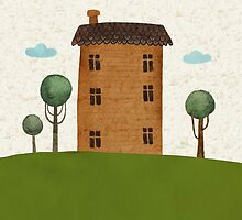 House in the сlouds by taoart