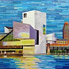 Downtown Cleveland Skyline  by SRowe Art