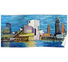 Downtown Cleveland Skyline  Poster