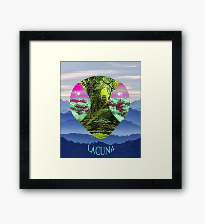 Lacuna Insect  Framed Print