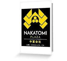 Nakatomi Plaza T-Shirt  Greeting Card