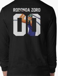 Roronoa Zoro Squad Jersey Long Sleeve T-Shirt