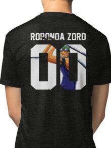 Roronoa Zoro Squad Jersey Tri-blend T-Shirt