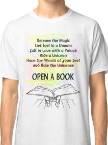 The magic of reading Classic T-Shirt