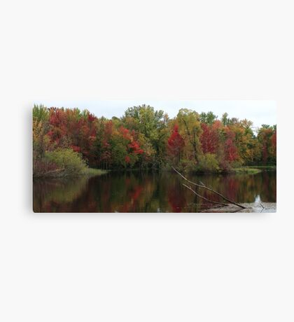 Crivitz Fall Canvas Print