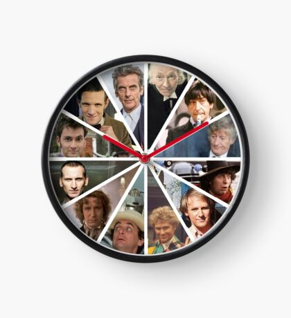 Doctor Who Doctor Clock Clock