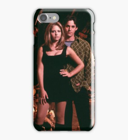 Buffy and Xander iPhone Case/Skin