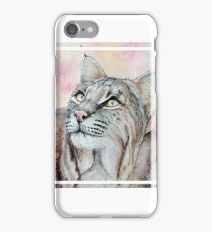 Bobcat Square iPhone Case/Skin