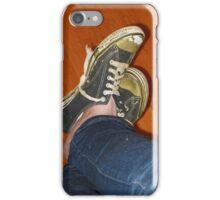 Old Converse Sneakers  iPhone Case/Skin