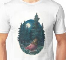 Lovely, Dark, and Deep Unisex T-Shirt