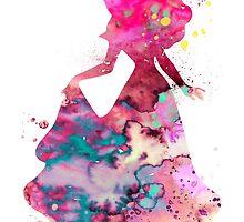Sleeping by Watercolorsart