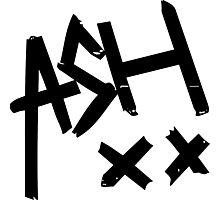 Ashton Irwin (Ash xx signature) Photographic Print