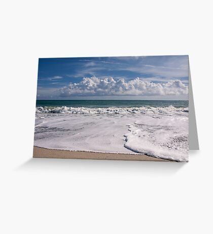 Around the ocean Greeting Card