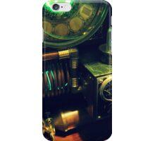 Steampunk Time Machine 1.0 iPhone Case/Skin