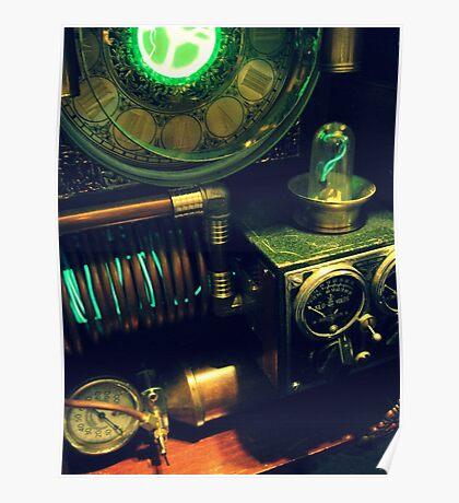 Steampunk Time Machine 1.0 Poster