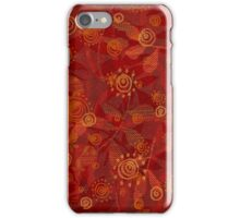 Red Christmas  iPhone Case/Skin