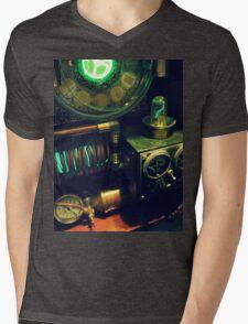 Steampunk Time Machine 1.0 Mens V-Neck T-Shirt