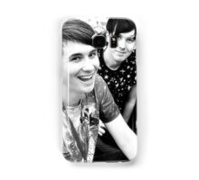 Dan and Phil (b&w) Samsung Galaxy Case/Skin