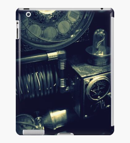 Steampunk Time Machine 1.1 iPad Case/Skin