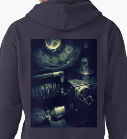 Steampunk Time Machine 1.1 Pullover Hoodie