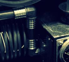 Steampunk Time Machine 1.1 Sticker