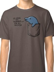 Dolphin in a Pocket Classic T-Shirt