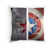 Stucky quote Throw Pillow