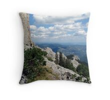 And I Think To Myself What A Wonderful World (Jahorinski Klek 2010) Throw Pillow
