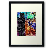The Therapy of Art Journaling Framed Print