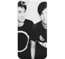 Phan Black and White iPhone Case/Skin