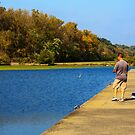 Fishing in the Fall by Sue Leonard