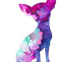 Chihuahua 7 by Watercolorsart