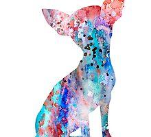 Chihuahua 8 by Watercolorsart
