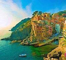 Cinque Terre by solnoirstudios