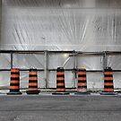 5 pylons by KreddibleTrout