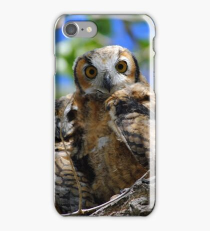 Whooo are you? iPhone Case/Skin