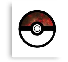 Galaxy Pokeball Canvas Print