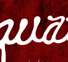 Squats (red) Sticker