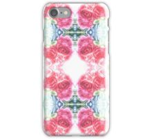 Bed of Pink Red Roses iPhone Case/Skin