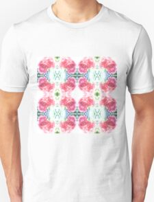 Bed of Pink Red Roses T-Shirt