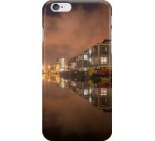 Lemington Wharf By Night iPhone Case/Skin