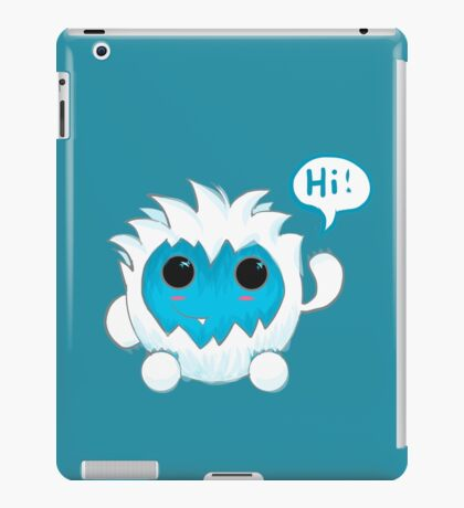 Bubble Yeti iPad Case/Skin