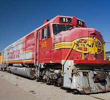 Santa Fe Train by Sue Leonard