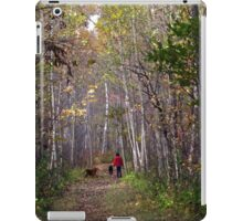 A walk in the forest iPad Case/Skin