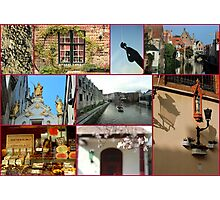 Collage from Belgium 2 - Travel Photography Photographic Print