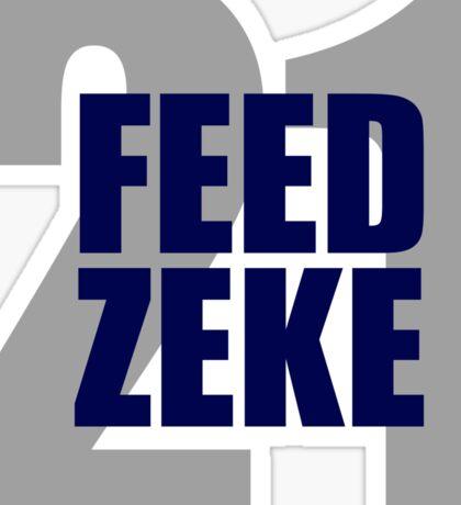 Feed Zeke Sticker