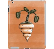 Carrot Illustrated Differently iPad Case/Skin