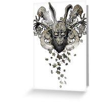 Darko-Sumi (Autumn flavour) Greeting Card